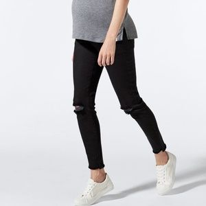 BLANQI Denim Maternity Belly Support Skinny Jeans